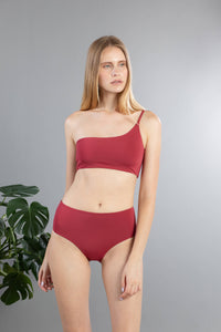 Front of Serena Bottom in Terracotta