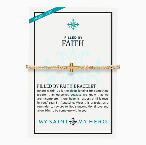Filled By Faith Bracelet (14085MG)