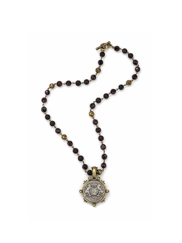 D'OR Aime Medallion Necklace (32852)