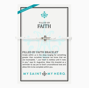 Filled By Faith Bracelet (14086MS)
