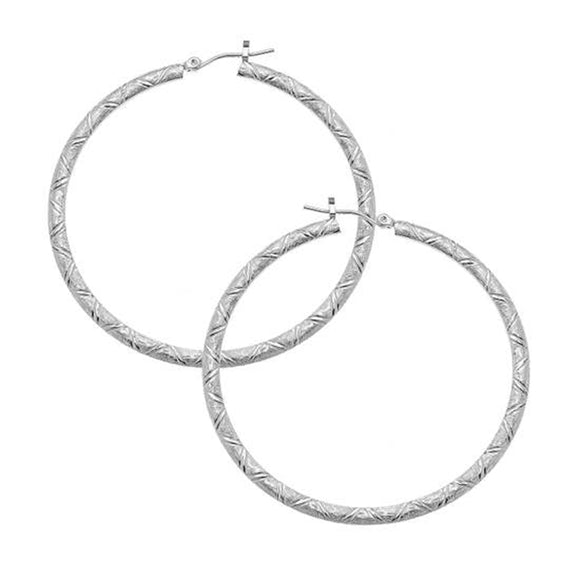 Hoop Earrings with Surgical Steel Ear Wires (1340g)