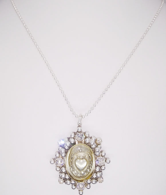 Sacred Heart Necklace (32194)