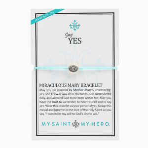 Say Yes Miraculous Mary Bracelet (BR00105-S-129)