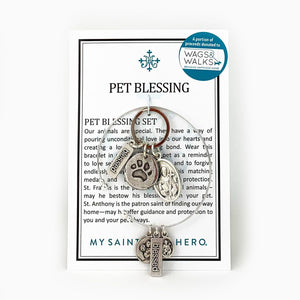 Pet Blessing Set (Bracelet + Tag) (SET00003-S)