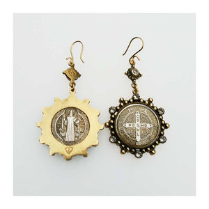 Barbara San Benito Earrings (E:BSBH-bg-a1-a1)