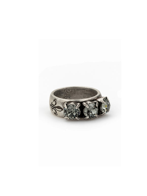 Triple Swarovski Ring (PR323-R-x)