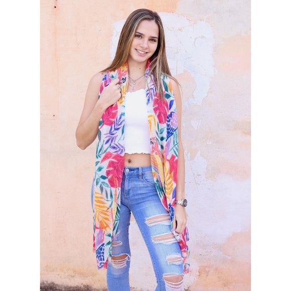 Tropical Scarf (S18698-MULTI)