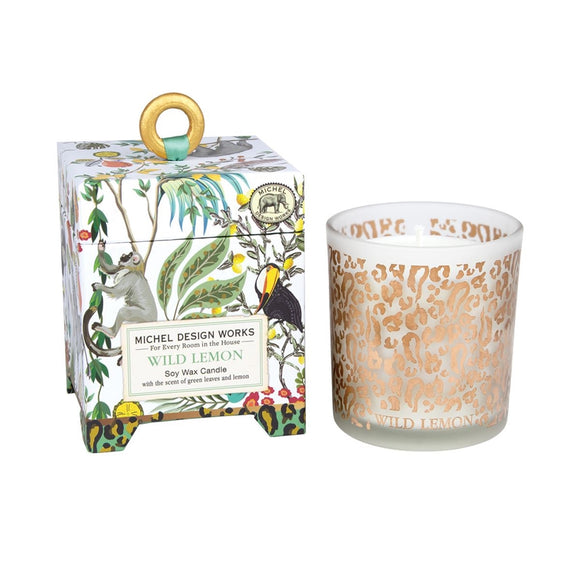 Wild Lemon Soy Wax Candle