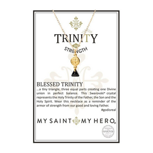 Blessed Trinity Necklace (NPT-G-BK)
