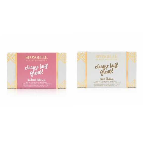 Spongelle Shimmer Collection Gift Sets (AST-GSSH)