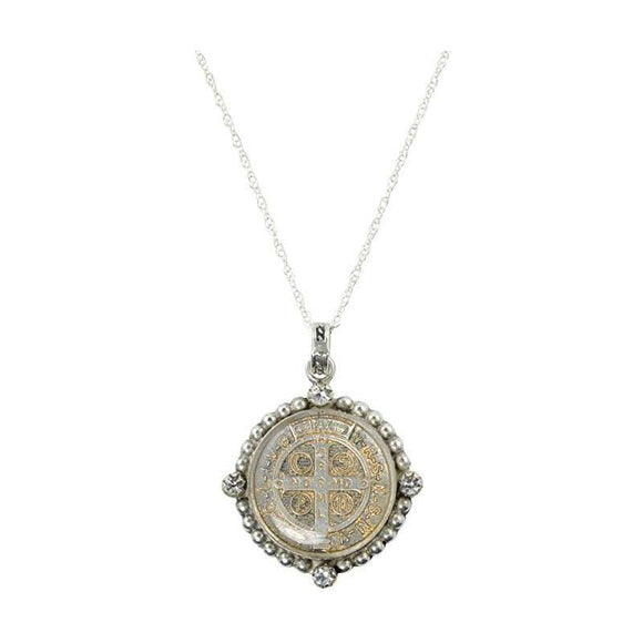 Santa Monica San Benito Necklace (N:SMSBCH-bs-a68)