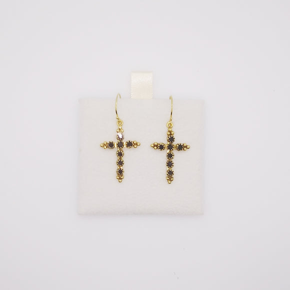 Madonna Cross Earrings (31973)