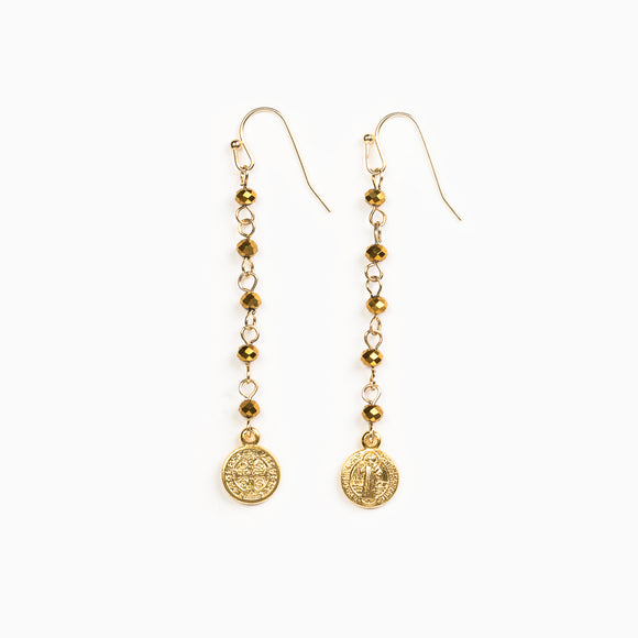 Drops From Heaven Earrings (ER00011-G-GLD)