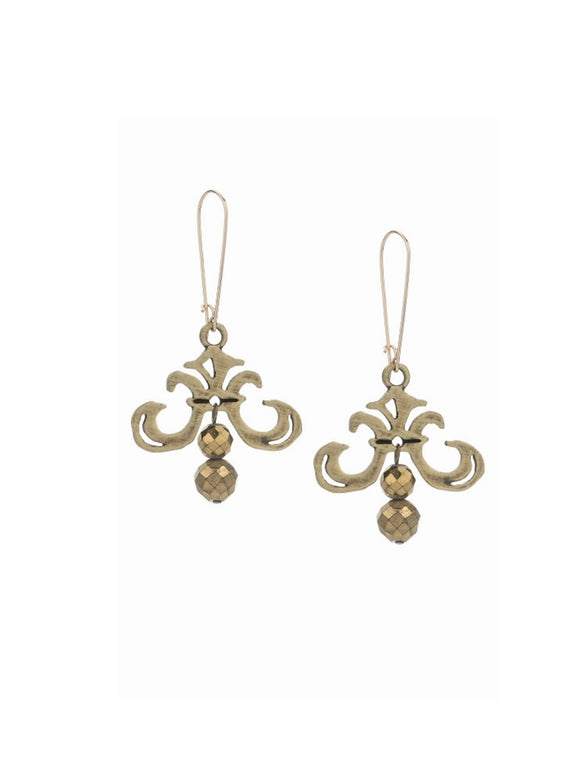 Fleur Drop Earrings (32871)