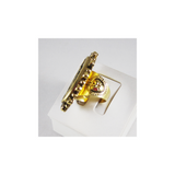 Milagrosa (Ring, Gold, Clear) (R:MI-SG-A1-xx)