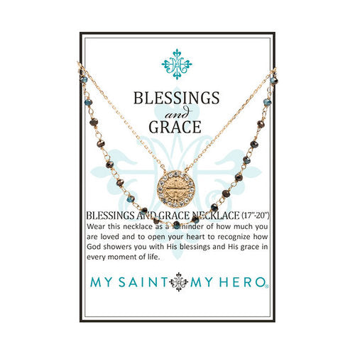 Blessings and Grace Necklace (NBG-G)