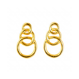 Chain by Chain (Earrings, Gold) (PEN0591ORO0000U)