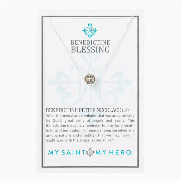 St. Benedict Petite Necklace (NPS-20)