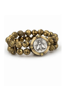 Mini Abeille Medallion Bracelet (32859)