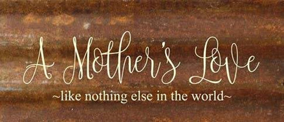 A Mother's Love-like Nothing Else In The World