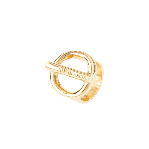 On/Off ring, gold