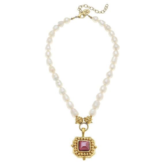 London Pearl Necklace (3113R)