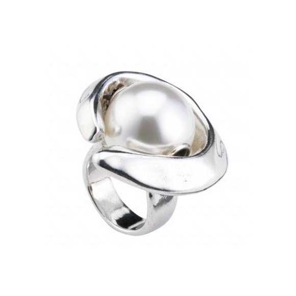 Half Moon (Ring) (ANI0549BPLMTL)