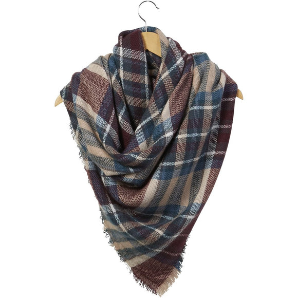 Mulberry Blanket Scarf (810907)