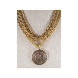 Sevilla Moorish Large Coin Choker (Necklace) (CK:SML-BG)