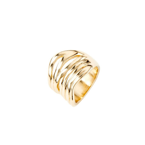 Nihiwatu Beach ring, gold