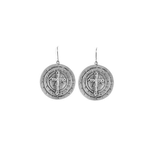 Mother Goddess Apogee Earrings (E:LMGA-BS)
