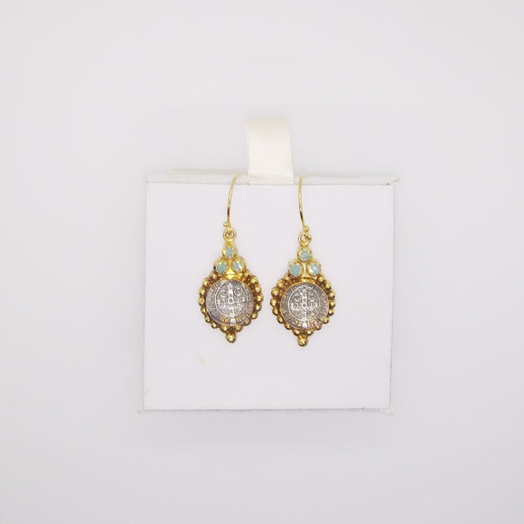 Joanna Earrings, gold (32189)