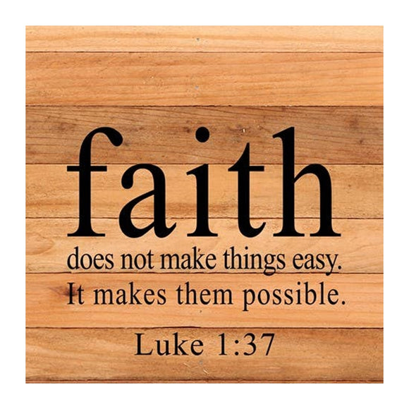 It Makes Them Possible - Luke 1:37