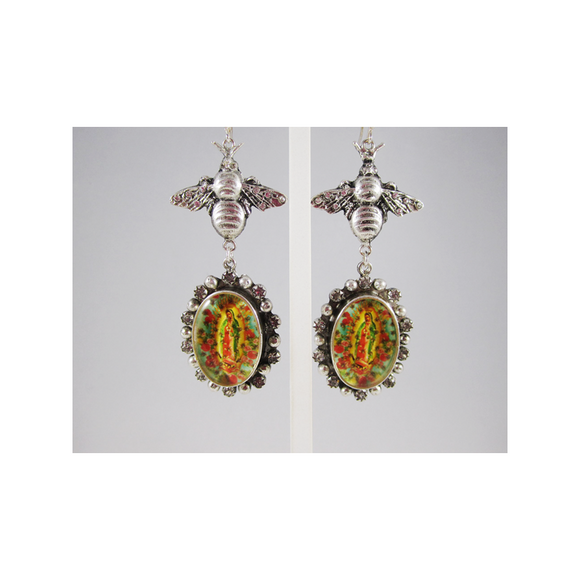 Queen Bee (Earrings) (E:GBQB-BS)