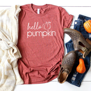 T-Shirt - Hello Pumpkin