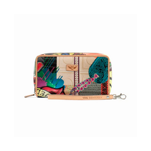 Patches Wristlet Wallet (6659)