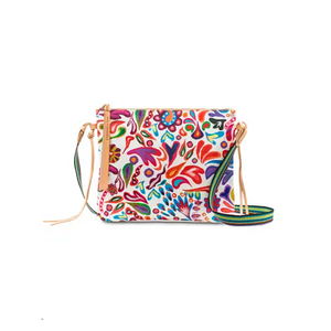 White Swirly Crossbody (6909)