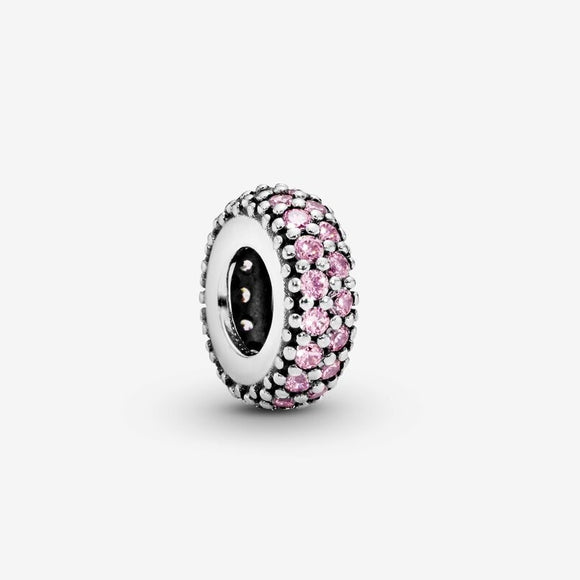Pink Sparkle Spacer charm (791359PCZ)