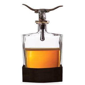 Nueces Longhorn Decanter (5476)