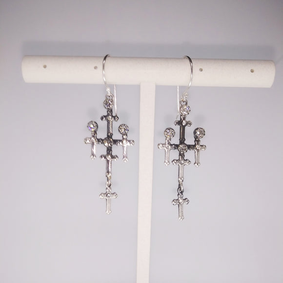 Judgement Earrings (E:GTJD-bs-a1)