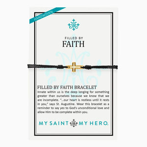 Filled By Faith Bracelet (14085BK)
