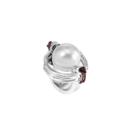 Pearl of Wisdom Ring (ANI0390BPLMTL)