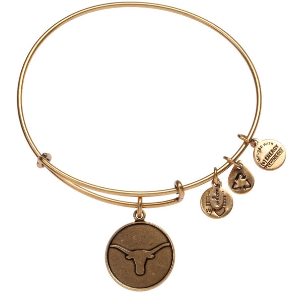 Texas Longhorns Bracelet, Gold (AS12UTX01RG)