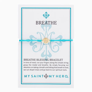 Breathe Blessing Bracelet (14002TQ)