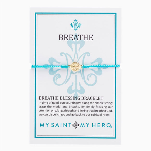 Breathe Blessing Bracelet (B-BRG-109)