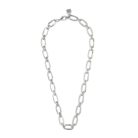 Link (Necklace, silver) (COL0729MTL0000U)