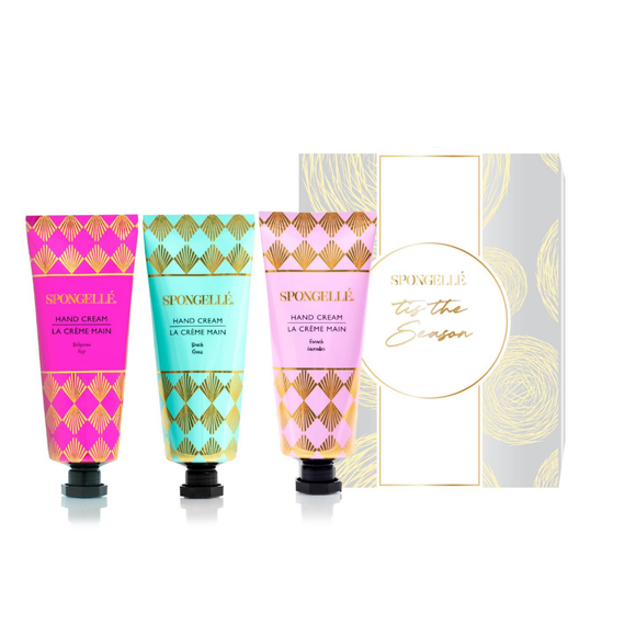 Let it Snow Hand Cream Trio Set 2 (AST-GSHOLHC-LIS2)