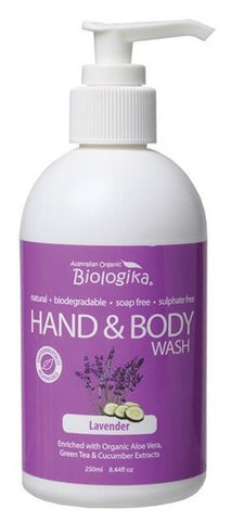 BIOLOGIKA Lavender Hand and Body Wash 250ml