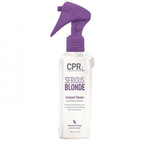 CPR Serious Blonde Instant Toner
