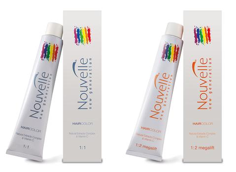 NOUVELLE Permanent Hair Colours Intensifiers